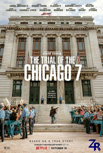 Суд над чикагской семеркой / The Trial of the Chicago 7 (2020) [WEB-DLRip]