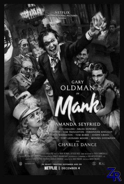 Манк / Mank (2020) [WEB-DLRip]