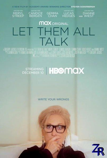 Пусть говорят / Let Them All Talk (2020) [WEB-DLRip]