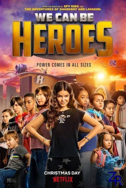 Мы можем стать героями / We Can Be Heroes (2020) [WEB-DLRip]