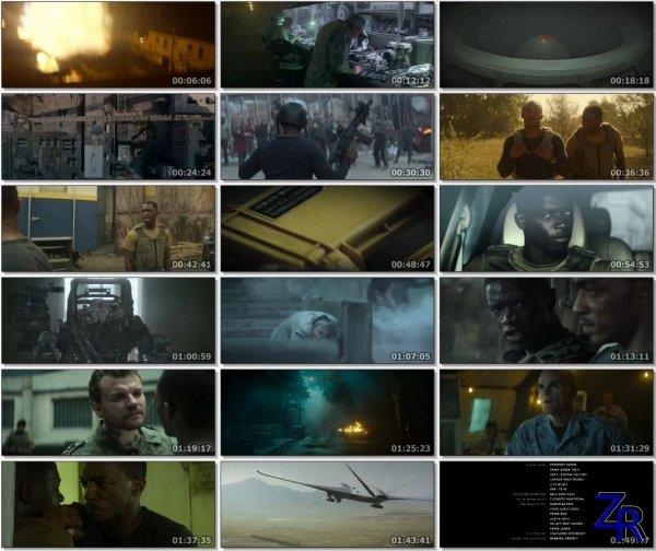 Смертельная зона / Outside the Wire (2021) [WEB-DLRip]