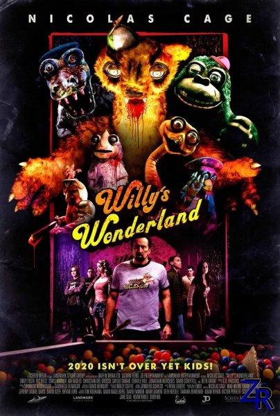 Страна чудес Вилли / Willy's Wonderland (2021) [WEB-DLRp]